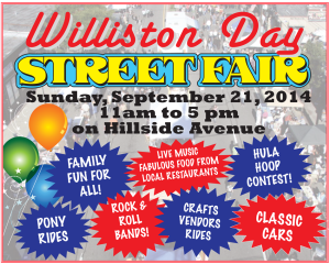 Williston Street Fair